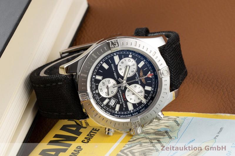 gebrauchte Luxusuhr Breitling Colt Chronograph  Chronograph Stahl Quarz Kal. B73 Ref. A73388  | 2005711 _0