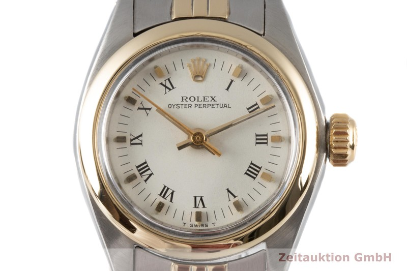 gebrauchte Luxusuhr Rolex Oyster Perpetual Stahl / Gold Automatik Kal. 2030 Ref. 6718 VINTAGE  | 2005726 _0