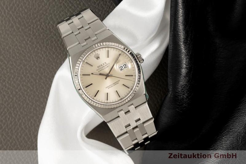 gebrauchte Luxusuhr Rolex Oysterquarz Stahl / Weissgold Quarz Kal. 5035 Ref. 17014  | 2005752 _0