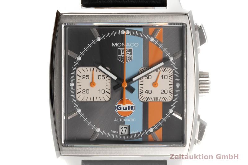 gebrauchte Luxusuhr Tag Heuer Monaco Chronograph Stahl Automatik Kal. 12 Ref. CAW2113 LIMITED EDITION   2005779 _0