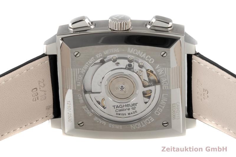 gebrauchte Luxusuhr Tag Heuer Monaco Chronograph Stahl Automatik Kal. 12 Ref. CAW2113 LIMITED EDITION   2005779 _1