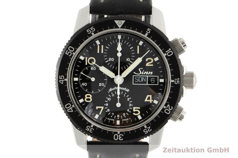 gebrauchte Luxusuhr Sinn 103 ST Chronograph Stahl Automatik Ref. 103.031  | 2005829 _0