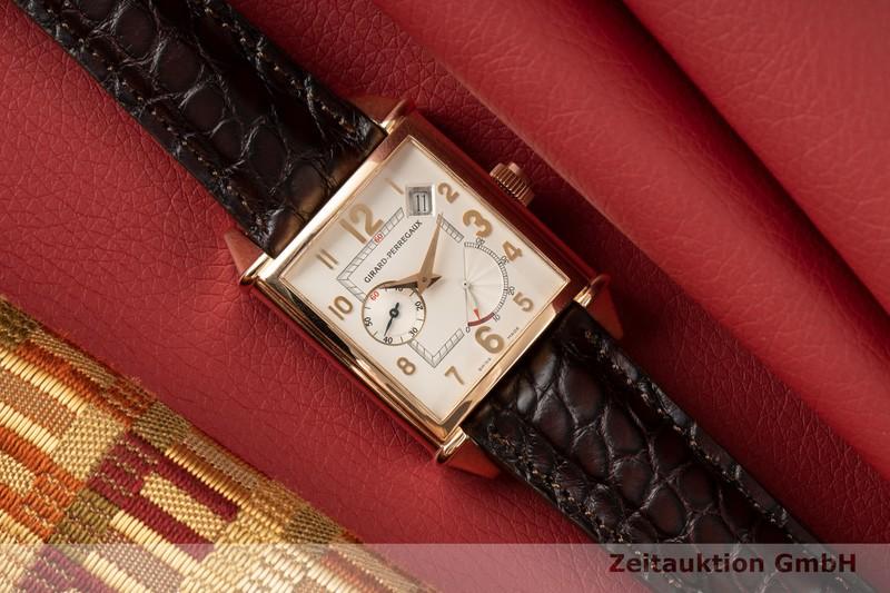 gebrauchte Luxusuhr Girard Perregaux Vintage 18k Rotgold Automatik Kal. 330B Ref. 2585  | 2005834 _0