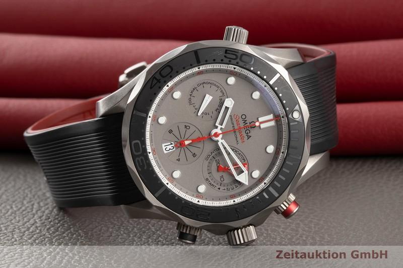 gebrauchte Luxusuhr Omega Seamaster Chronograph Titan Automatik Kal. 3330 Ref. 212.92.44.50.99.001  | 2005853 _0
