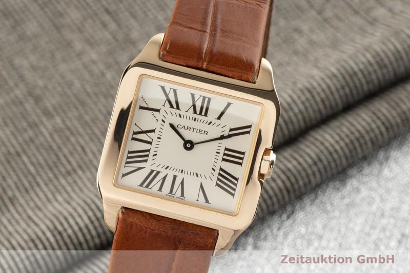 gebrauchte Luxusuhr Cartier Santos Dumont 18k Gold Quarz Kal. 690 Ref. 2788  | 2005865 _0