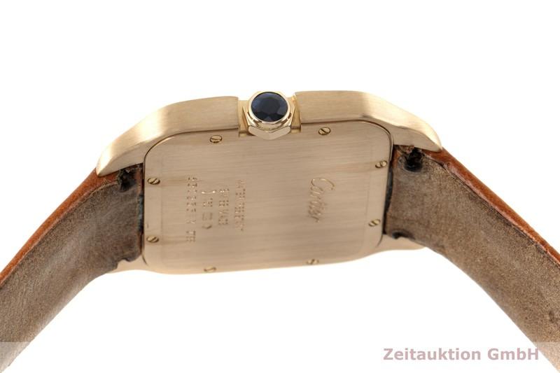 gebrauchte Luxusuhr Cartier Santos Dumont 18k Gold Quarz Kal. 690 Ref. 2788  | 2005865 _1