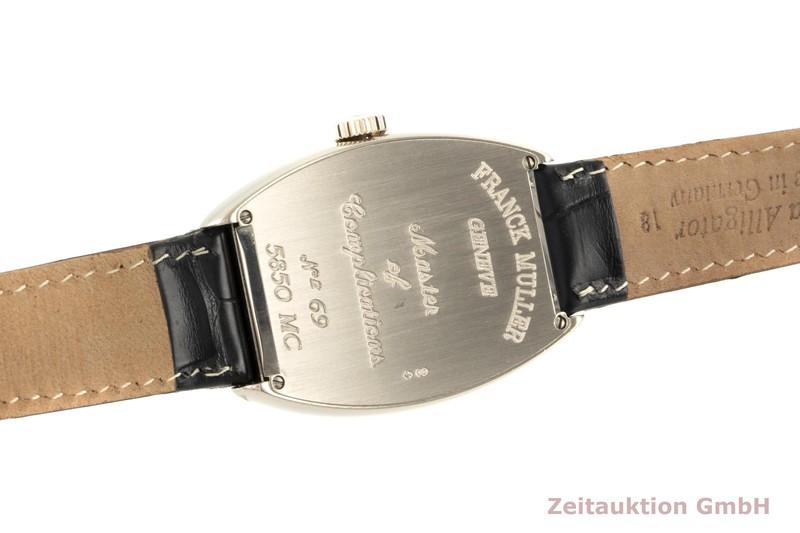 gebrauchte Luxusuhr Franck Muller Master Calendar 18k Weissgold Automatik Kal. 2800 Ref. 5850MC  | 2005866 _1