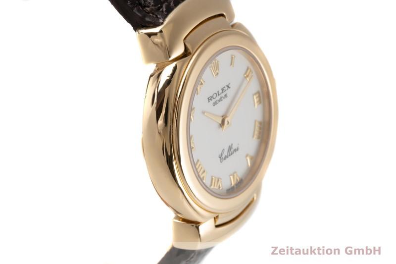 gebrauchte Luxusuhr Rolex Cellini 18k Gold Quarz Kal. 6620 Ref. 6621  | 2005867 _0