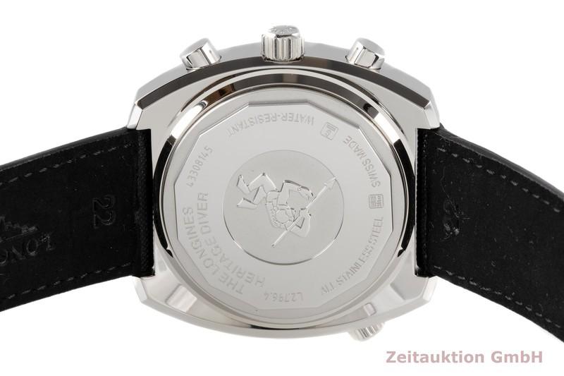 gebrauchte Luxusuhr Longines Heritage Chronograph Stahl Automatik Kal. L651.3 Ref. L2.796.4  | 2005874 _1
