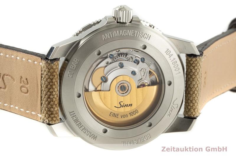 gebrauchte Luxusuhr Sinn 104ST Stahl Automatik Ref. 104.0112    2005890 _1