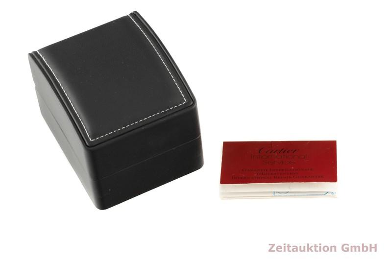 gebrauchte Luxusuhr Cartier Santos 18k Gold Quarz Kal. 81 Ref. W3315  | 2005901 _0