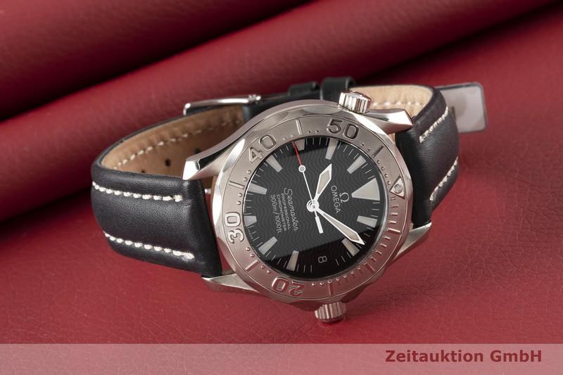 gebrauchte Luxusuhr Omega Seamaster 18k Weissgold Automatik Kal. 1120 Ref. 168.1641  | 2005908 _0