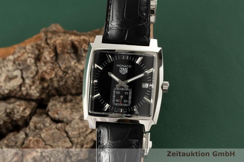 gebrauchte Luxusuhr Tag Heuer Monaco Stahl Quarz Ref. WAW131A    2005912 _0