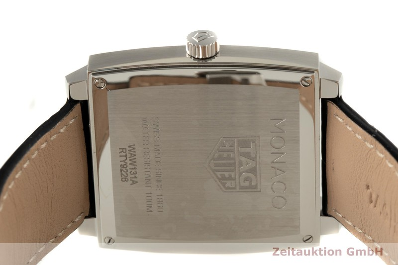 gebrauchte Luxusuhr Tag Heuer Monaco Stahl Quarz Ref. WAW131A    2005912 _1