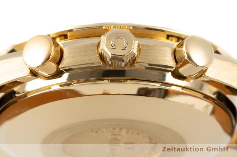 gebrauchte Luxusuhr Omega Speedmaster Chronograph 18k Gold Automatik Kal. 1150 Ref. 175.0034  | 2005979 _1
