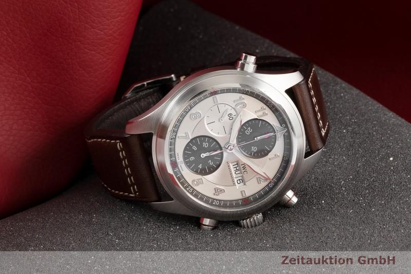gebrauchte Luxusuhr IWC Fliegeruhr Chronograph Stahl Automatik Kal. 79230 Ref. IW371806  | 2005992 _0