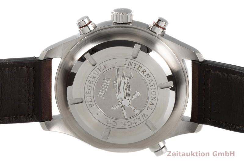gebrauchte Luxusuhr IWC Fliegeruhr Chronograph Stahl Automatik Kal. 79230 Ref. IW371806  | 2005992 _1