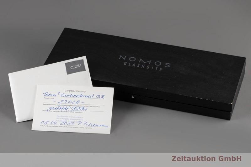 gebrauchte Luxusuhr Nomos Tetra Stahl Handaufzug Kal. Gamma Ref. 27028  | 2006002 _0