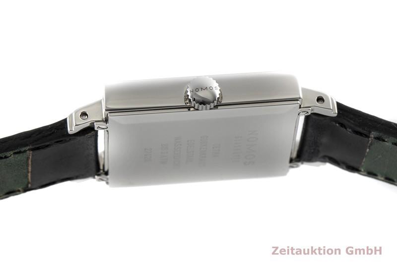 gebrauchte Luxusuhr Nomos Tetra Stahl Handaufzug Kal. Gamma Ref. 27028  | 2006002 _1