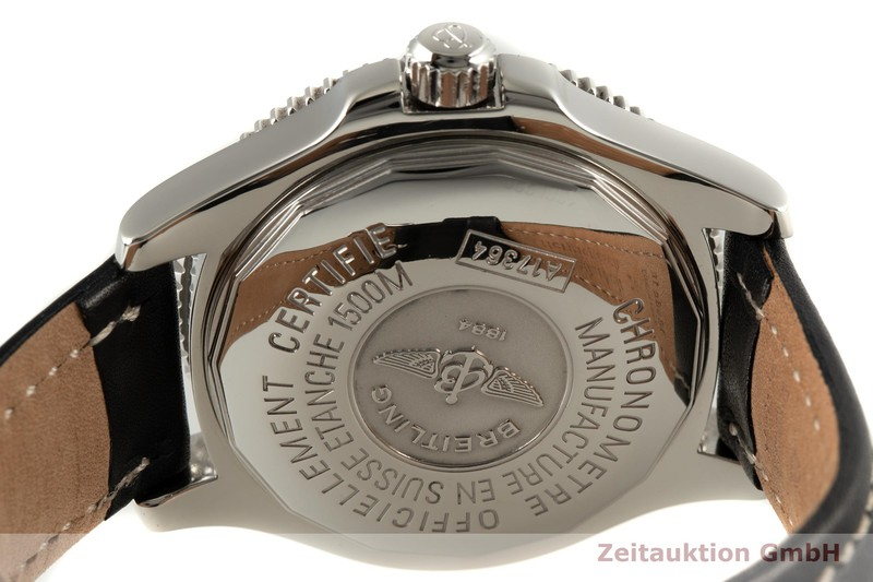 gebrauchte Luxusuhr Breitling Superocean Stahl Automatik Kal. B17 Ref. A17364  | 2006031 _1