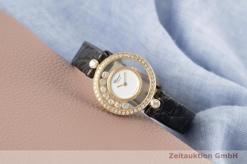 gebrauchte Luxusuhr Chopard Happy Diamonds 18k Gold Quarz Ref. 4052    2006044 _0