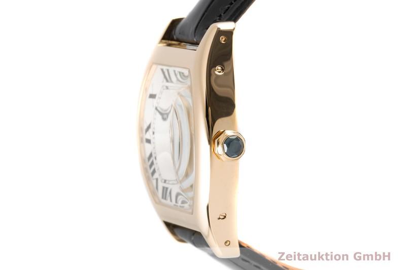 gebrauchte Luxusuhr Cartier Tortue 18k Gold Handaufzug Kal. 437 MC Ref. 2496D  | 2006060 _0