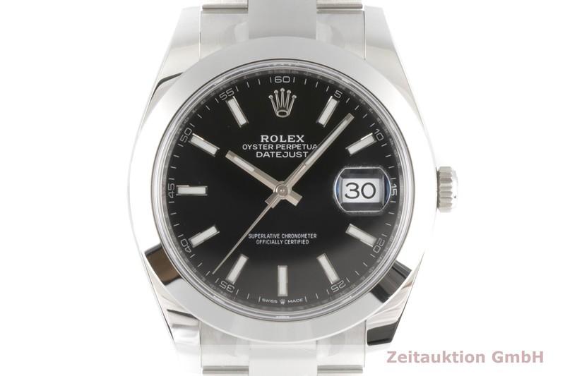 gebrauchte Luxusuhr Rolex Datejust Stahl Automatik Kal. 3235 Ref. 126300    2006063 _0