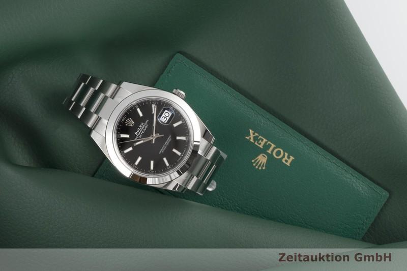 gebrauchte Luxusuhr Rolex Datejust Stahl Automatik Kal. 3235 Ref. 126300    2006063 _1