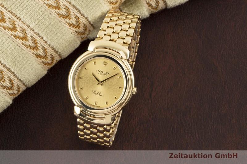 gebrauchte Luxusuhr Rolex Cellini 18k Gold Quarz Kal. 6620 Ref. 6622    2006066 _0