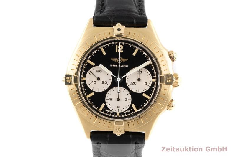 gebrauchte Luxusuhr Breitling Callisto Chronograph 18k Gold Handaufzug Ref. 80520  | 2006069 _0