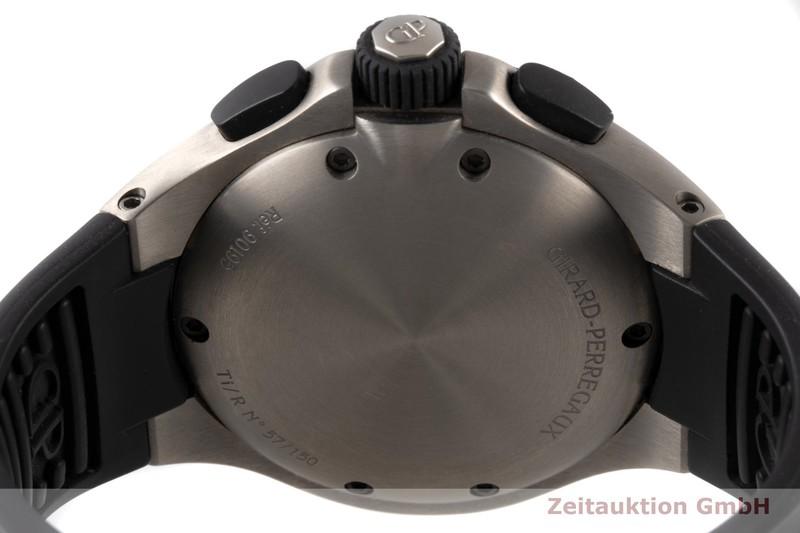 gebrauchte Luxusuhr Girard Perregaux Laureato Chronograph Titan Automatik Kal. 8020 Ref. 90195  | 2006074 _1