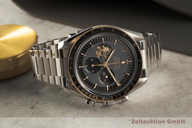 gebrauchte Luxusuhr Omega Speedmaster Moonwatch Chronograph Stahl / Gold Handaufzug Kal. 3861 Ref. 310.20.42.50.01.001, STZ011796 LIMITED EDITION | 2006098 _0