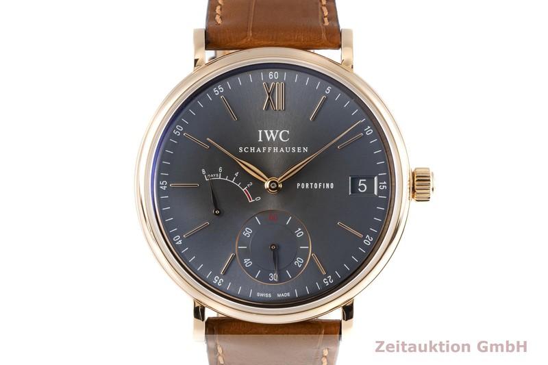 gebrauchte Luxusuhr IWC Portofino 18k Rotgold Handaufzug Kal. C.59210 Ref. 5101, IWIW510104  | 2006107 _0