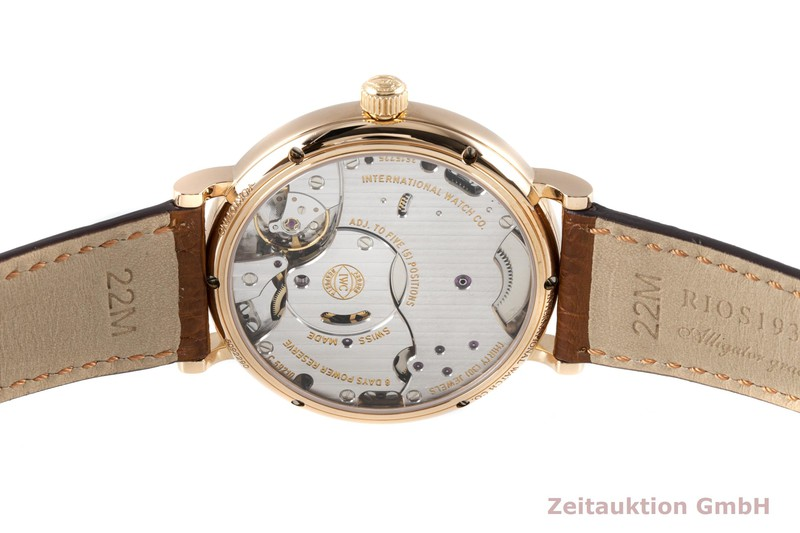 gebrauchte Luxusuhr IWC Portofino 18k Rotgold Handaufzug Kal. C.59210 Ref. 5101, IWIW510104  | 2006107 _1