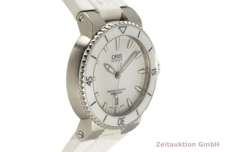 gebrauchte Luxusuhr Oris Aquis Date Stahl Automatik Kal. 733 Ref. 7653  | 2006116 _0