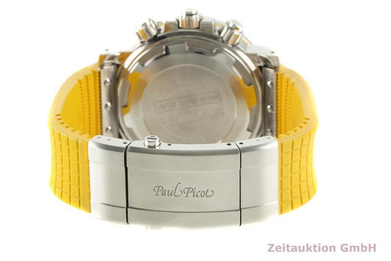 gebrauchte Luxusuhr Paul Picot Sport Chronograph Stahl Automatik Ref. 4116 LIMITED EDITION   2006120 _1