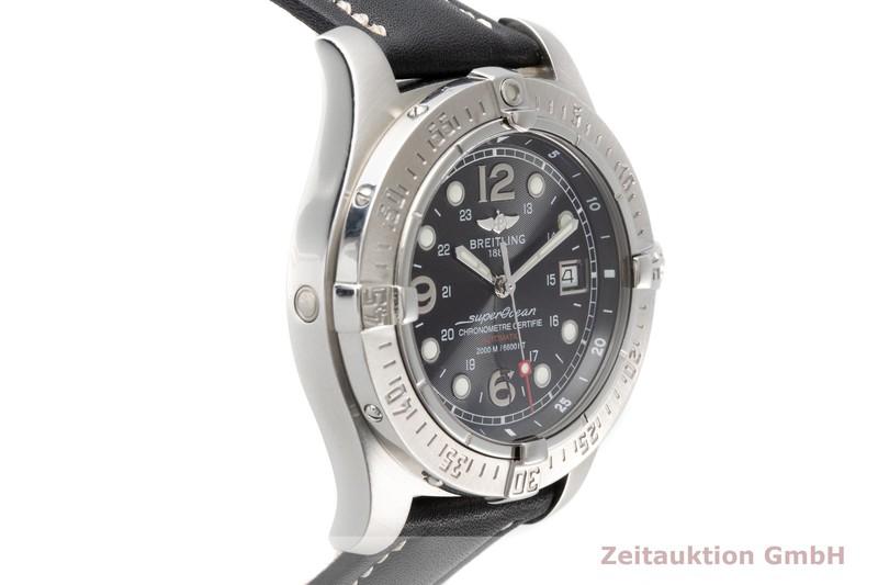 gebrauchte Luxusuhr Breitling Superocean Stahl Automatik Kal. B17 Ref. A17390  | 2006132 _0
