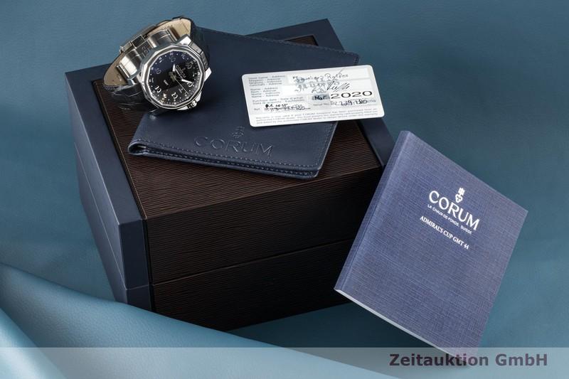 gebrauchte Luxusuhr Corum Admirals Cup Stahl Automatik Ref. 01.0055 LIMITED EDITION | 2006161 _0