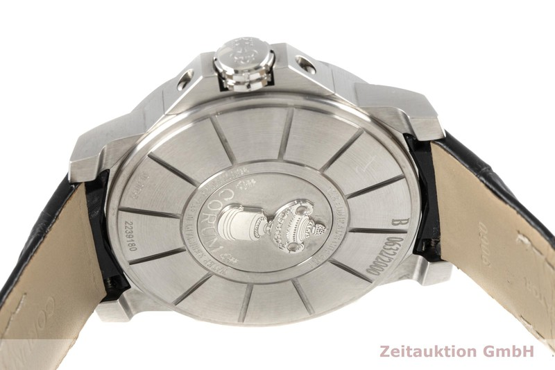 gebrauchte Luxusuhr Corum Admirals Cup Stahl Automatik Ref. 01.0055 LIMITED EDITION | 2006161 _1