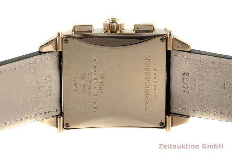 gebrauchte Luxusuhr Girard Perregaux Vintage Chronograph 18k Gold Automatik Kal. 8020 Ref. 9021    2006215 _1