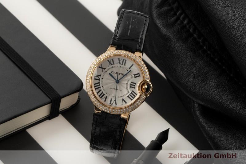 gebrauchte Luxusuhr Cartier Ballon Bleu de Cartier 18k Gold Automatik Kal. 076 Ref. 3002  | 2006228 _0