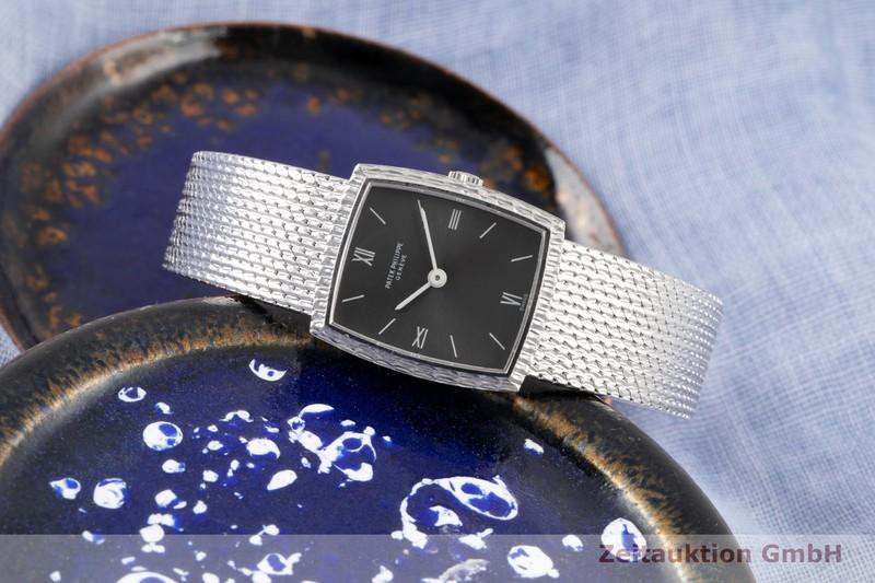 gebrauchte Luxusuhr Patek Philippe * 18k Weissgold Handaufzug Ref. 3354/1 VINTAGE    2006231 _0