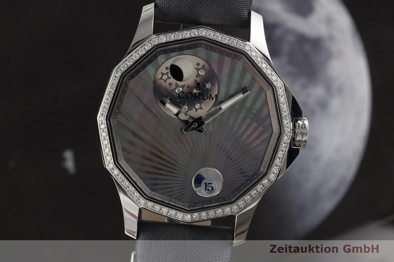 gebrauchte Luxusuhr Corum Admirals Cup Stahl Automatik Ref. 01.0098, 384.101.47/F149 AN01  | 2006233 _0
