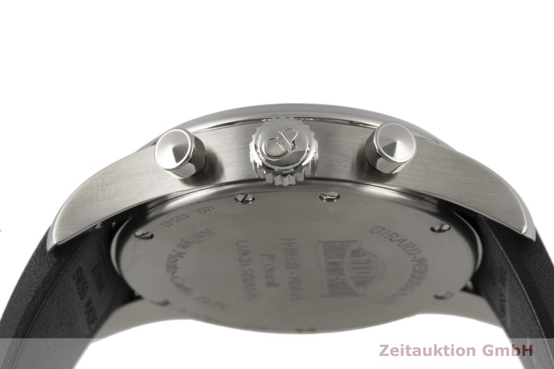 gebrauchte Luxusuhr Girard Perregaux Rallye Monte-Carlo Chronograph Stahl Automatik Kal. GP40C0 Ref. 49541 LIMITED EDITION   2006239 _1
