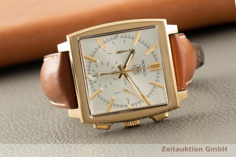 gebrauchte Luxusuhr Tag Heuer Monaco Chronograph 18k Gold Automatik Ref. CW5140 LIMITED EDITION | 2006245 _0