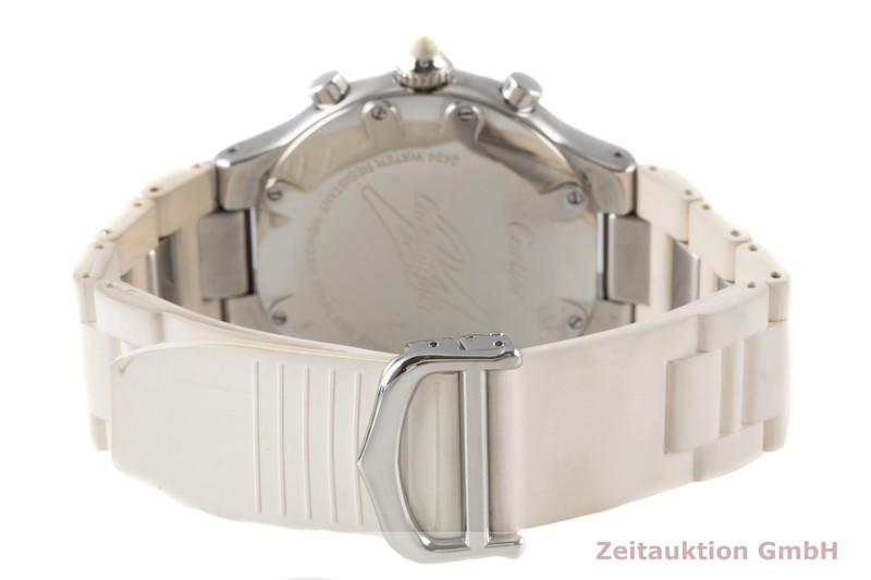 gebrauchte Luxusuhr Cartier Chronoscaph 21 Chronograph Stahl Quarz Kal. 372 Ref. 2424  | 2006256 _1