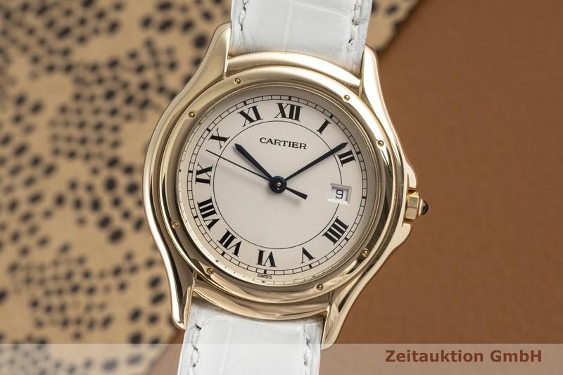 gebrauchte Luxusuhr Cartier Panthere 18k Gold Quarz Kal. 87.06 Ref. 116000R  | 2006260 _0