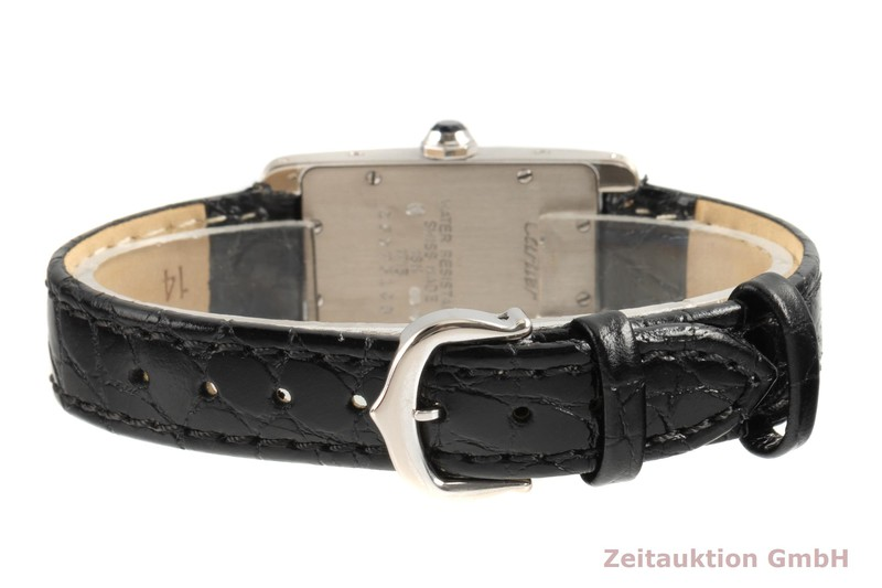 gebrauchte Luxusuhr Cartier Tank Américaine 18k Weissgold Quarz Kal. 157 Ref. 1713  | 2006300 _1