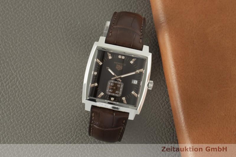 gebrauchte Luxusuhr Tag Heuer Monaco Stahl Quarz Ref. WAW131E  | 2006301 _0
