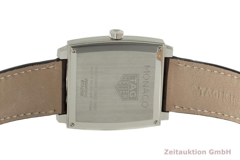 gebrauchte Luxusuhr Tag Heuer Monaco Stahl Quarz Ref. WAW131E  | 2006301 _1